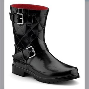 Sperry Falcon Quilted Rain Boots Size 9